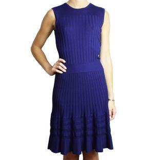 Vestido-Emilio-Pucci-Tricot-Azul
