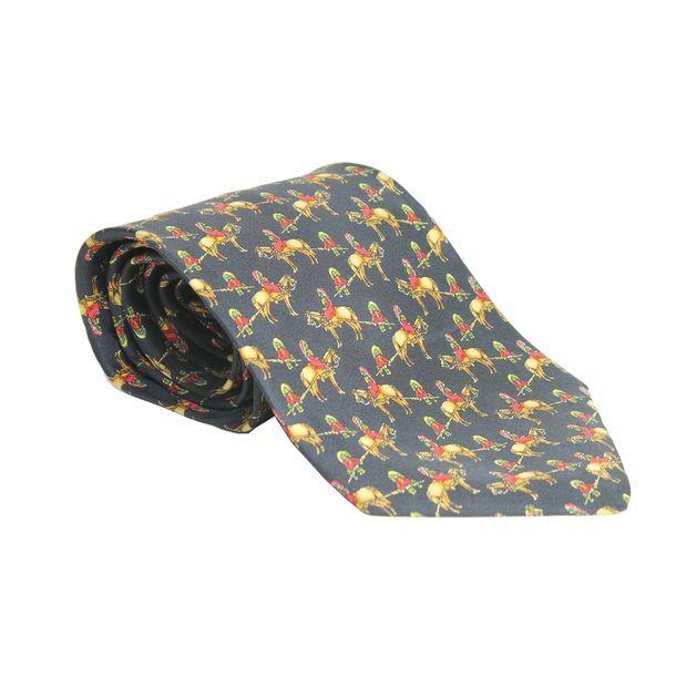 gravata-salvatore-ferragamo-cavalinhos-preta
