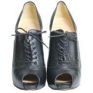 Ankle-Boot-Christian-Louboutin-Peep-Toe-Couro-Preto