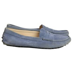 Loafer-Tods-Camurca-Azul
