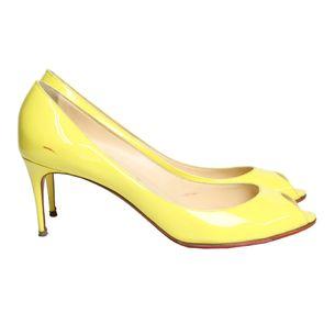 peep-toe-christian-louboutin-yootish-verniz-amarelo