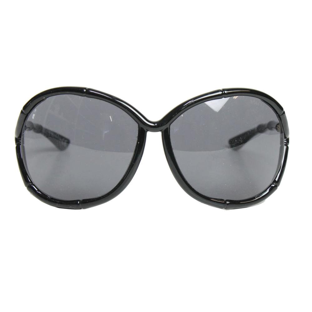 41c6a4e28c171 Óculos Tom Ford Claudia Bamboo Preto