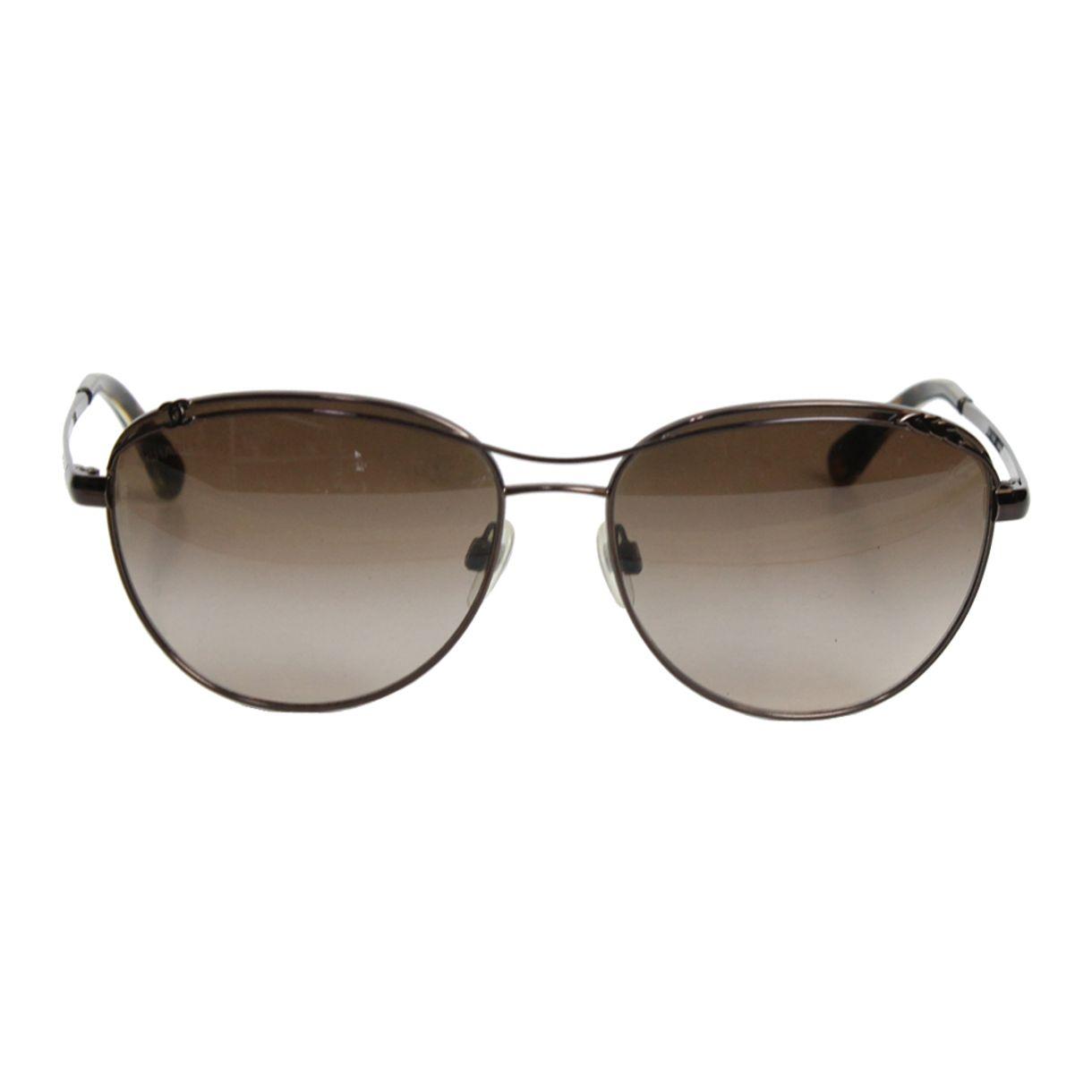 Oculos-Chanel-Metal-Marrom