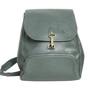 mochila-louis-vuitton-couro-verde-vintage