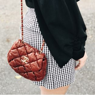 Bolsa-Chanel-Bubble-Crossbody-Vinho