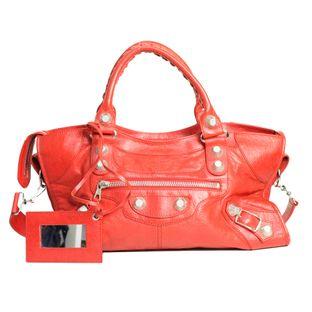 bolsa-balenciaga-classic-city-vermelha