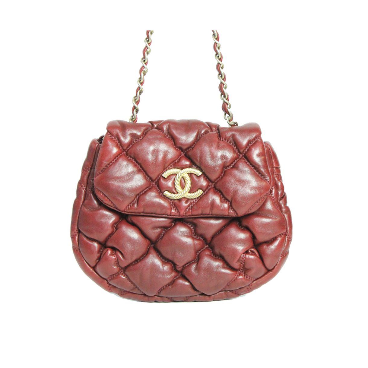 Bolsa-Chanel-Bubble-Crossbody-Vinho