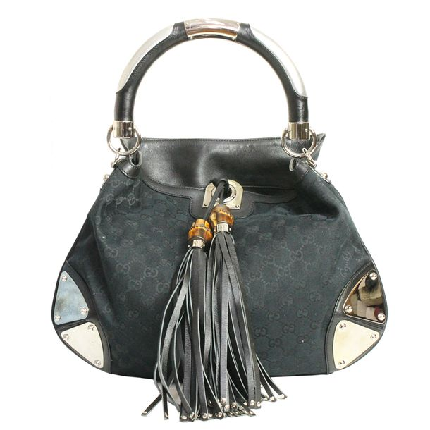 Bolsa-Gucci-Hobo-Jacquard-Monograma