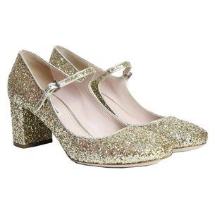 Sapato-Miu-Miu-Mary-Jane-Glitter-Dourado
