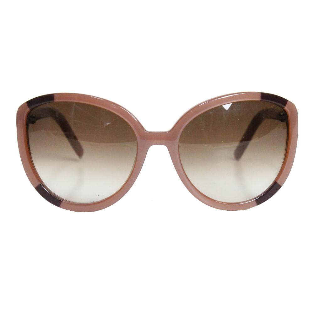 70992f2de0226 Óculos Chloe Rosa Redondo