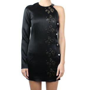 vestido-antony-vaccarello-assimetrico-preto