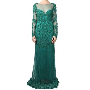 vestido-achados-pn-verde-sob-medida-bordado-pedrarias