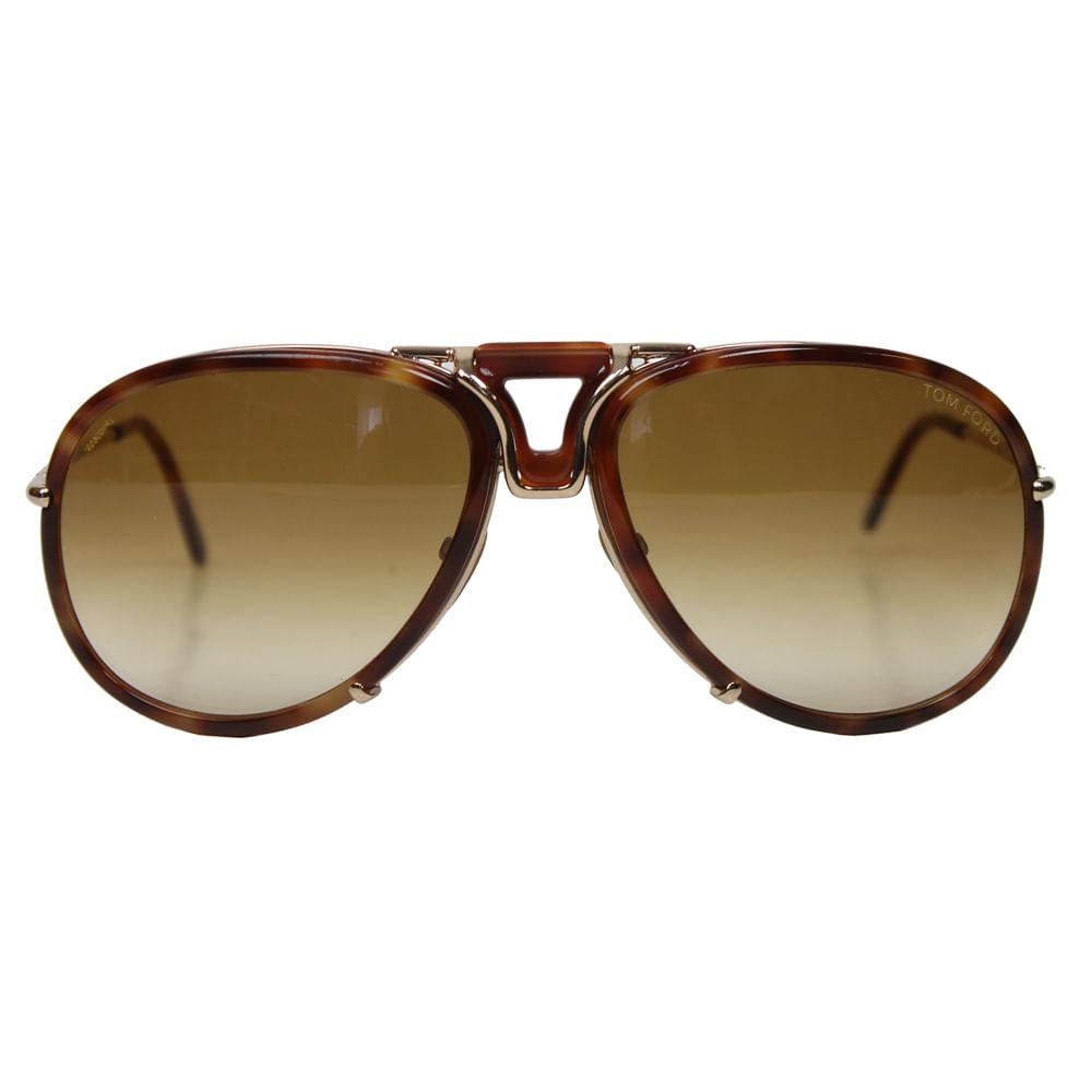 Óculos Tom Ford Hawkings   Brechó de luxo - prettynew da6bae9839