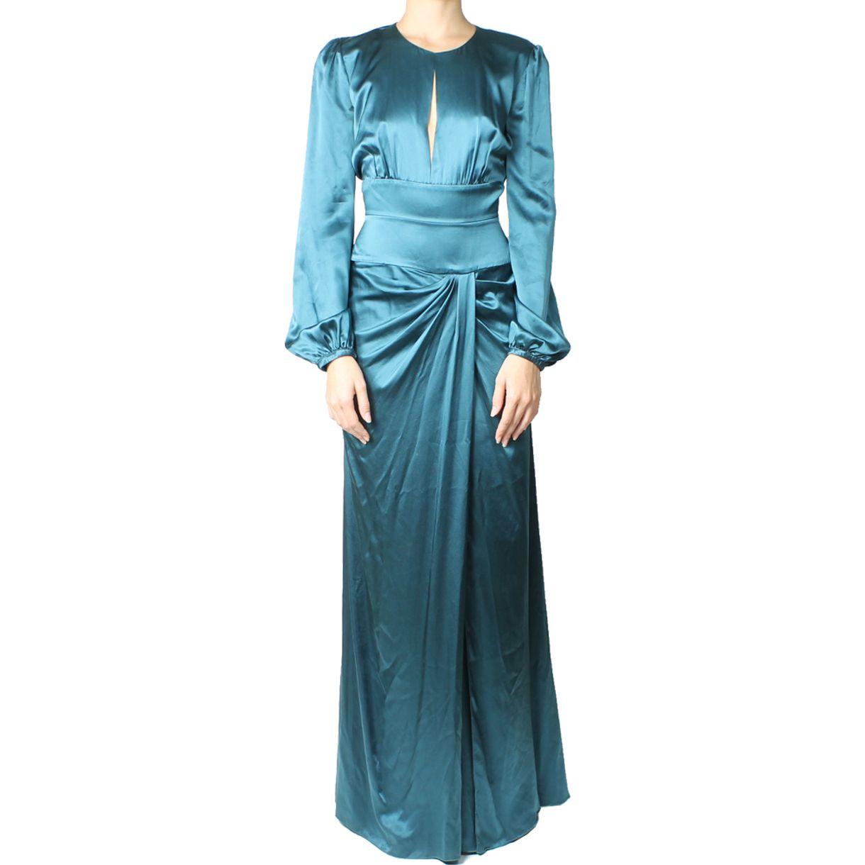 vestido-rboerto-cavalli-azul-petroleo-1