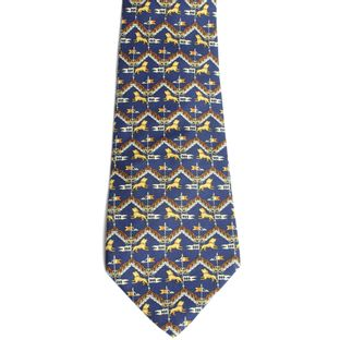 5012-gravata-salvatore-ferragamo-leao-azul-royal-verso