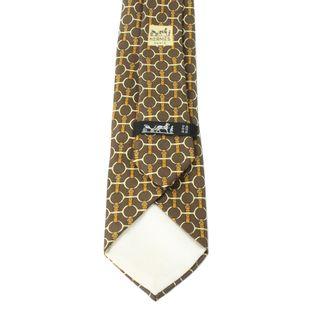 5038-gravata-hermes-elos-marrom-e-dourada-3