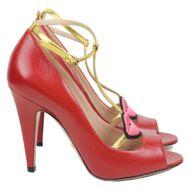 Sandalia-Gucci-Molina-Lip-Vermelha