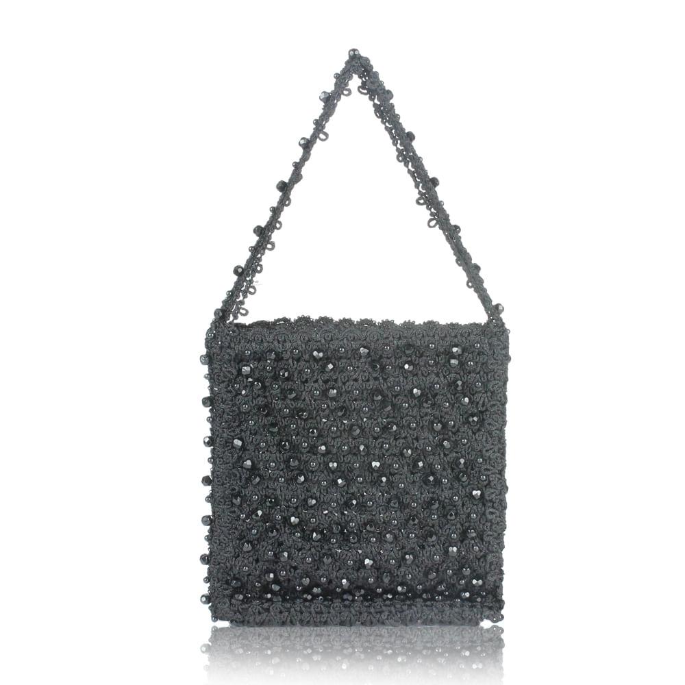 f747c8138 Mini Bolsa Crochê e Bordado | Brechó de luxo - prettynew