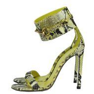 Sandalia-Gucci-Ursula-Horsebit-Python-Verde