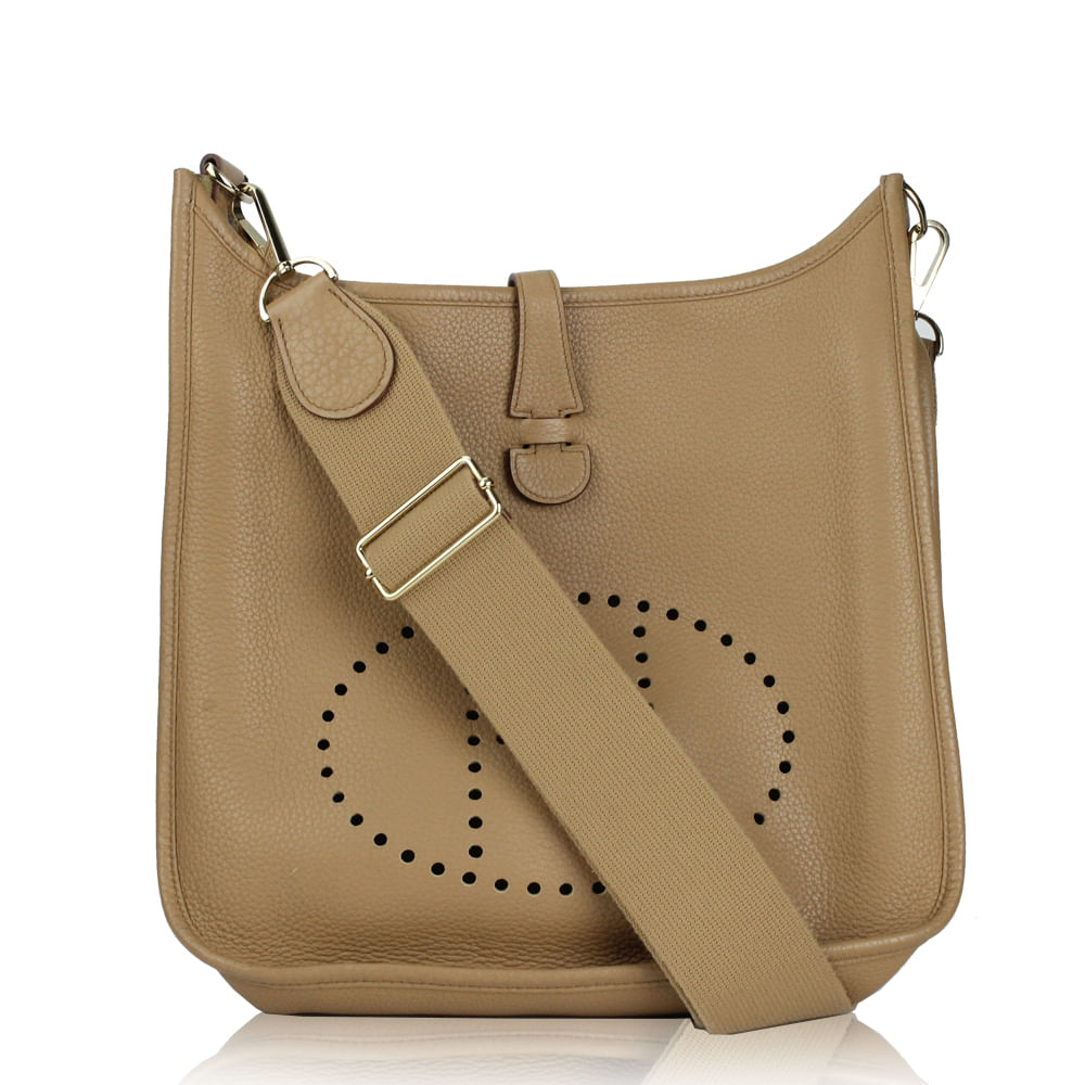 a2717bf02 shop hermÈs evelyne leather crossbody bag 9a7d0 8dee4; where can i buy  bolsa hermes evelyne 29 caramelo a8499 f4201