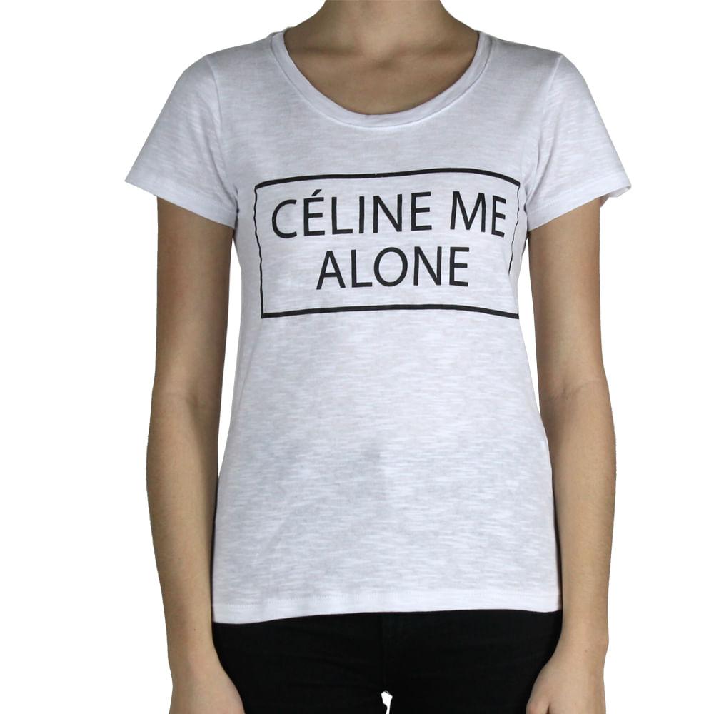bb731daaaa9b8 T-Shirt Celine   Brechó de Luxo   Pretty New - prettynew