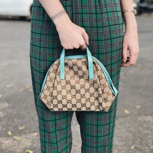 Bolsa-Gucci-Canvas-Dome-Mini