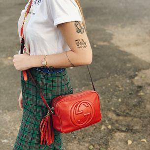 Bolsa-Gucci-Soho-Disco-Crossbody-Vermelha