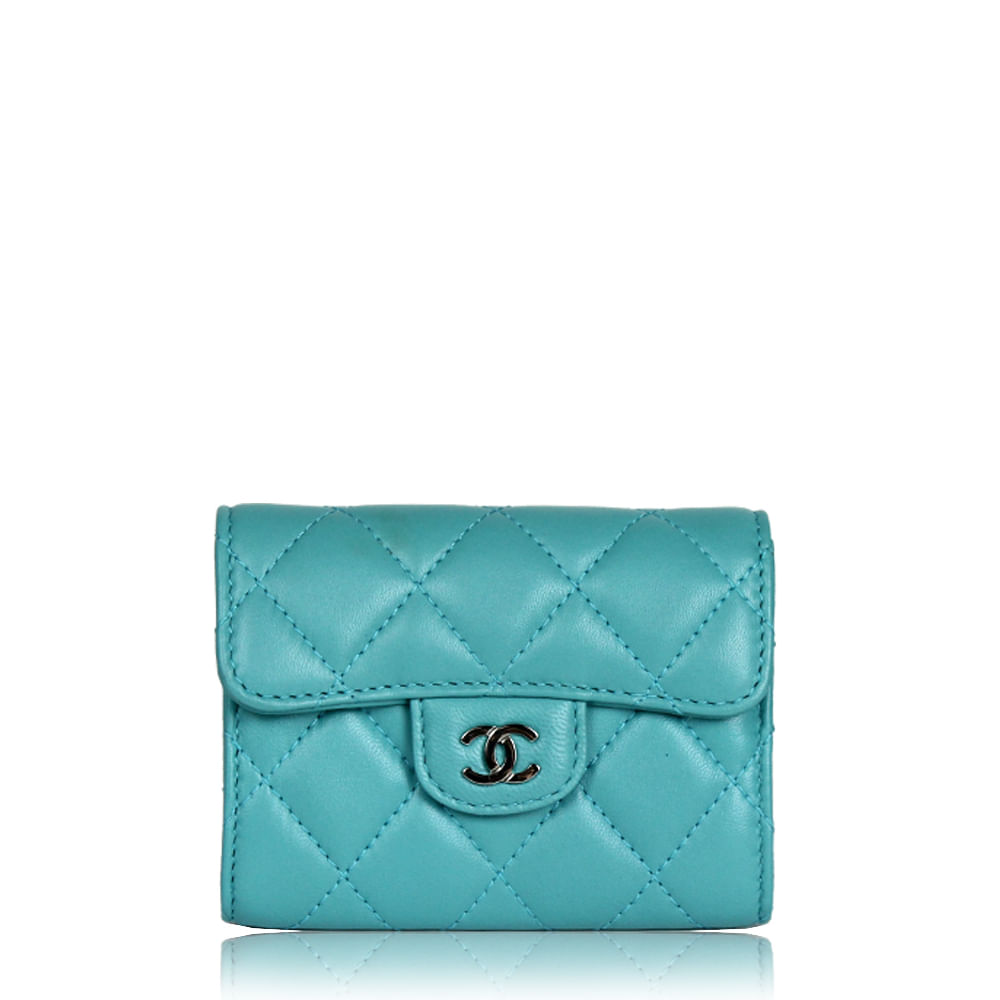 7ed35463952 Carteira Chanel Small Zip Pocket