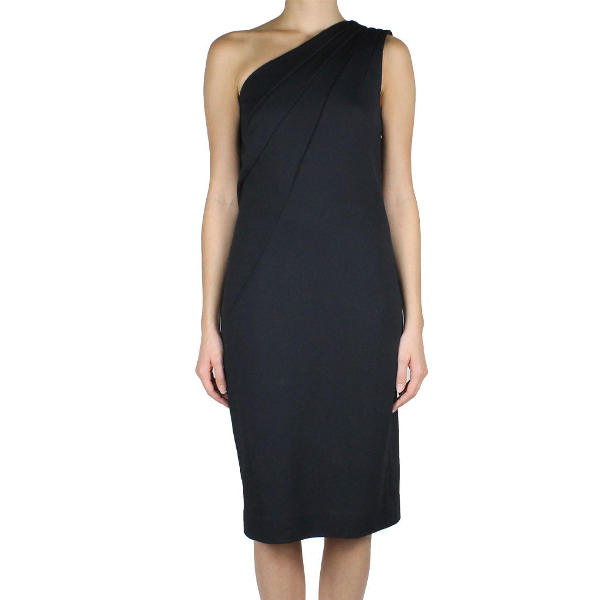 vestido-diane-von-furstenberg-assimetrico-preto