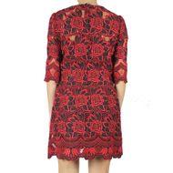 Vestido-Dolce-_-Gabbana-Renda-Vermelho-e-Preto