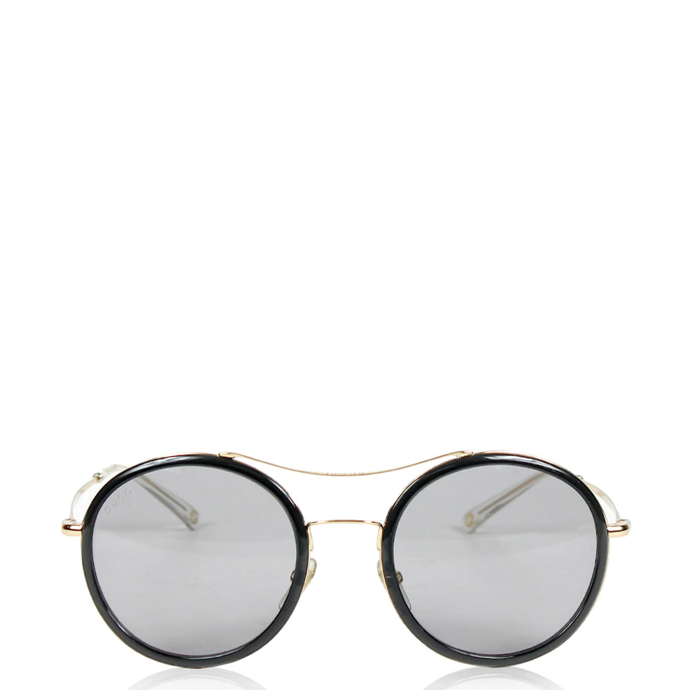 Óculos Gucci Round   Brechó de luxo - prettynew 99820b9a41