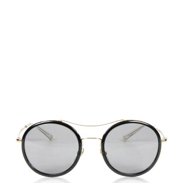 Óculos Gucci Round   Brechó de luxo - prettynew 27bd529beb