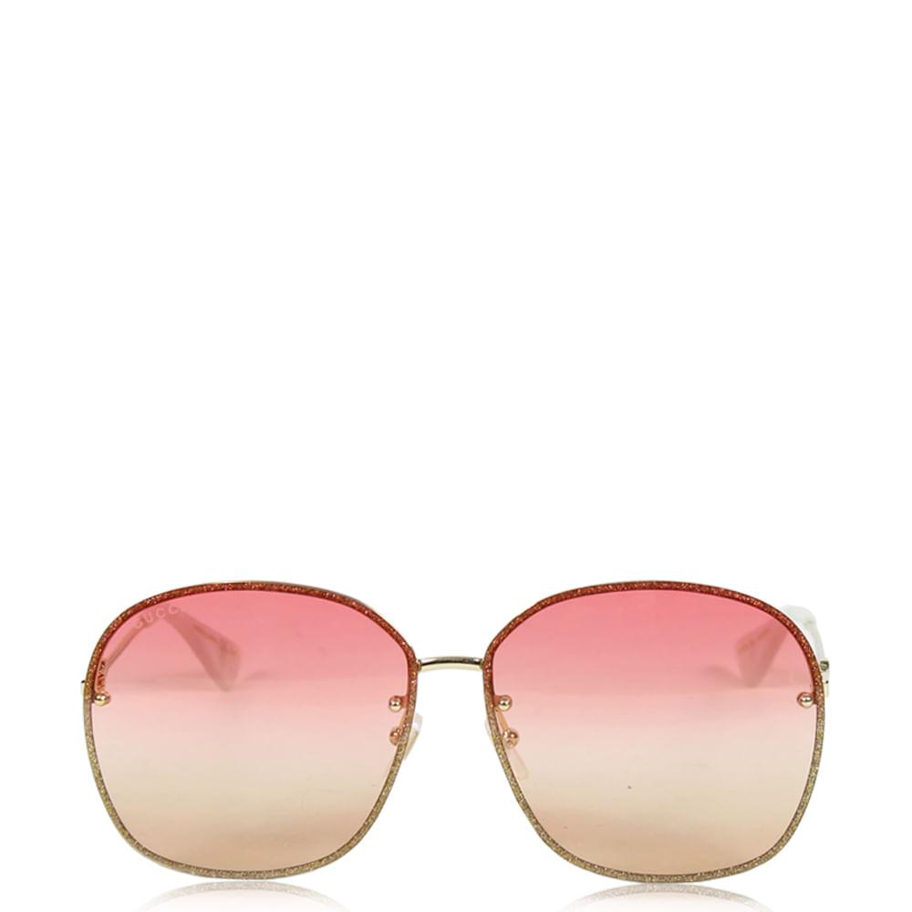 Óculos Gucci Gradiente   Brechó de luxo - prettynew 7edaef0fe9