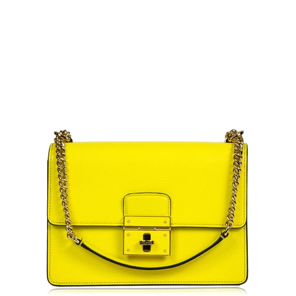 Bolsa-Dolce-_-Gabbana-Couro-Amarelo