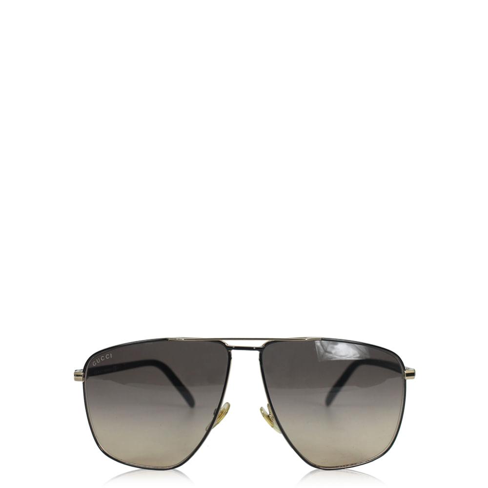 Óculos Gucci Square   Brechó de luxo - prettynew d06e17021a
