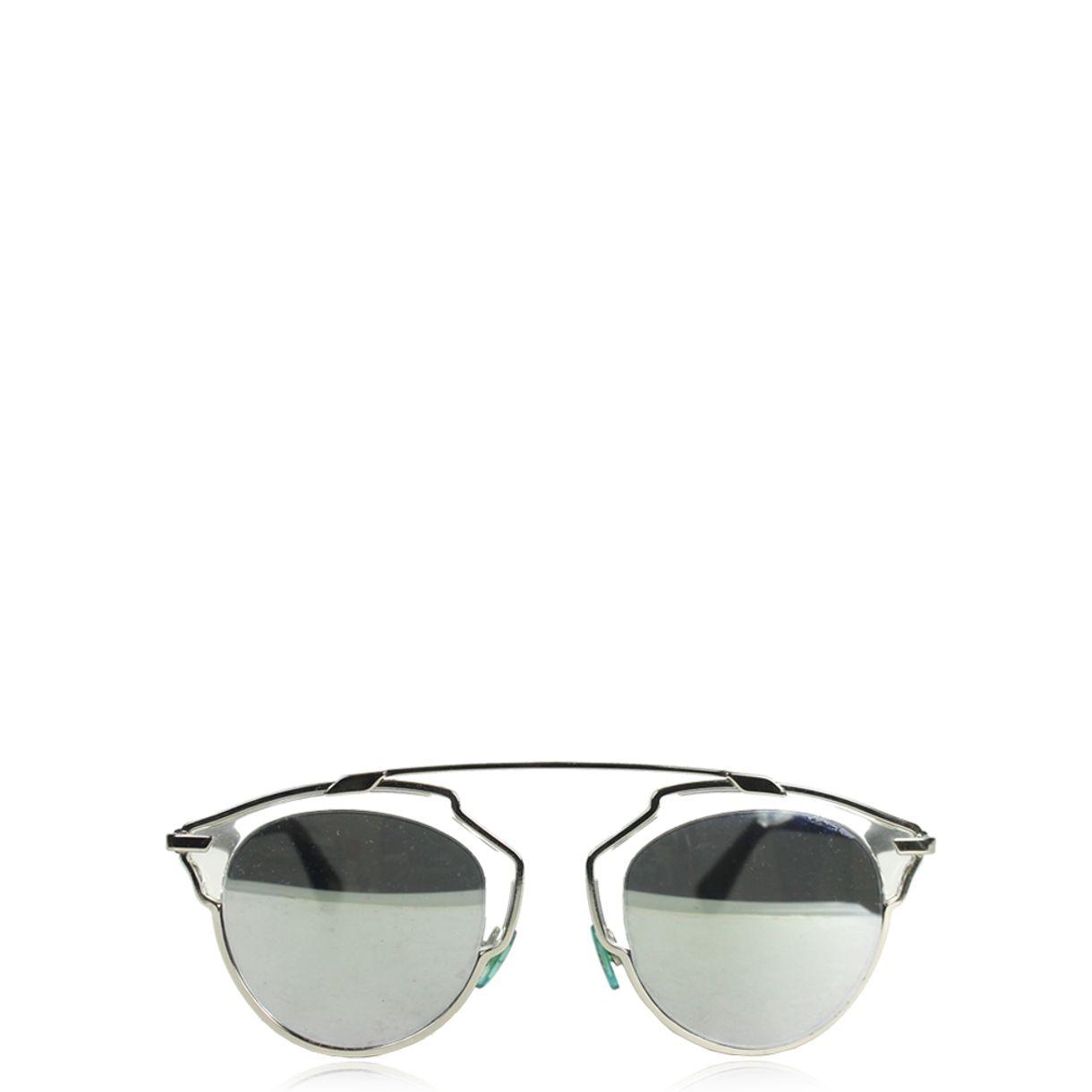 Oculos-Christian-Dior-So-Real-Espelhado-Prateado