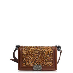 Bolsa-Chanel-Boy-Couro-Caramelo