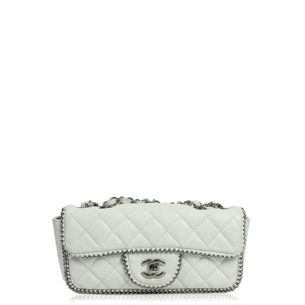 Bolsa-Chanel-Classic-Couro-Branco-M