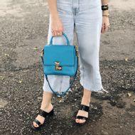 Bolsa-Dolce-_-Gabbana-Tote-Couro-Azul-verso