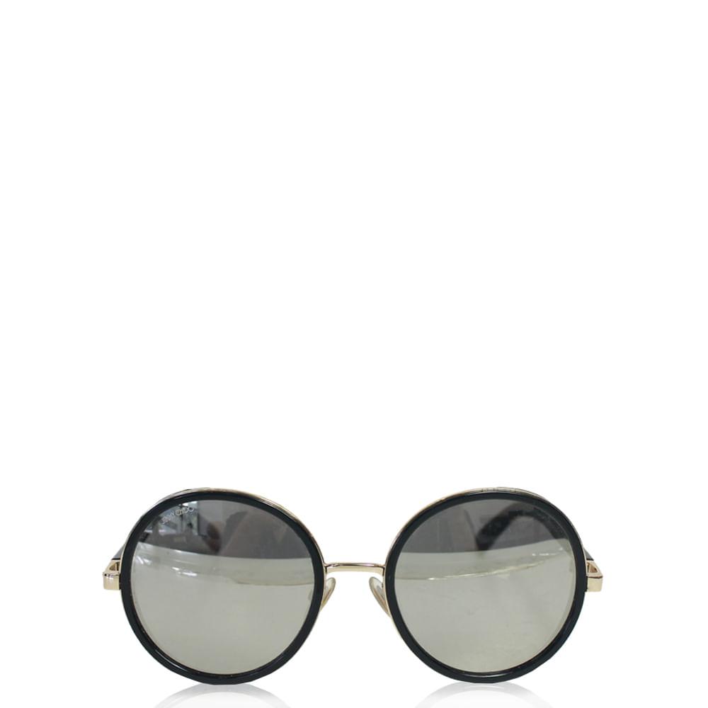 Óculos Jimmy Choo Andie Solar   Brechó de luxo - prettynew 42b90f50f4