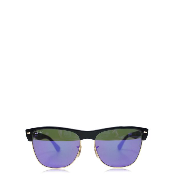 Oculos-Ray-Ban-Clubmaster-Espelhado-Azul