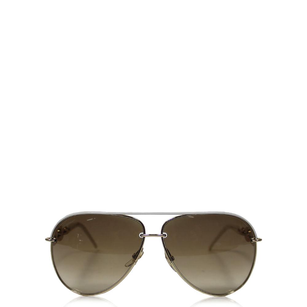 25e211b93084f Óculos Gucci Chain   Brechó de luxo - prettynew
