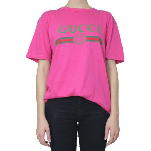 Camiseta-Gucci-Coco-Rosa
