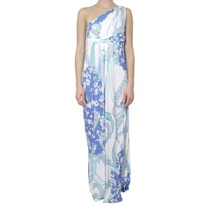 Vestido-Emilio-Pucci-Azul-Longo