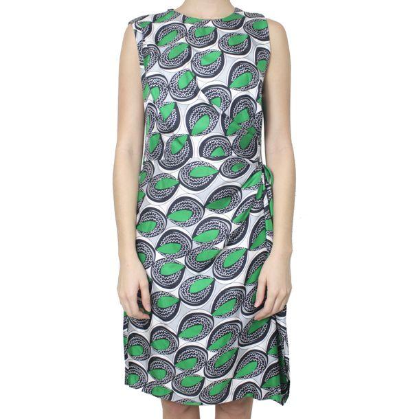 Vestido-Diane-Von-Furstenberg-Estampado-Verde-