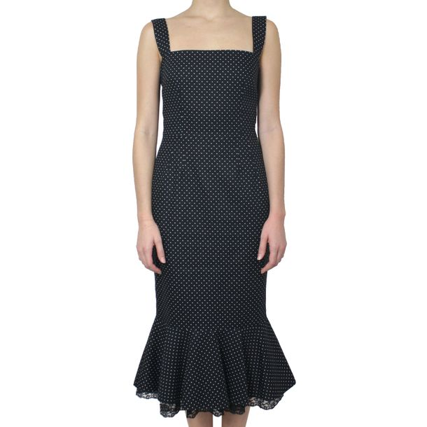 Vestido-Dolce---Gabbana-Poa