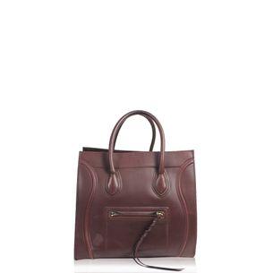 Bolsa-Celine-Luggage-Vinho