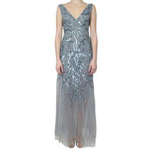 Vestido-Longo-Amen-Couture-Paete-Prateado