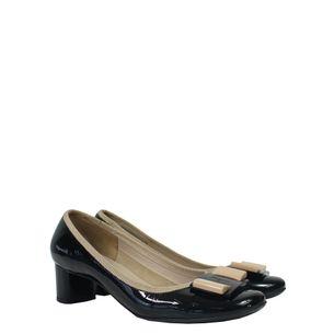 Sapato-Salvatore-Ferragamo-Verniz-Preto-e-Nude