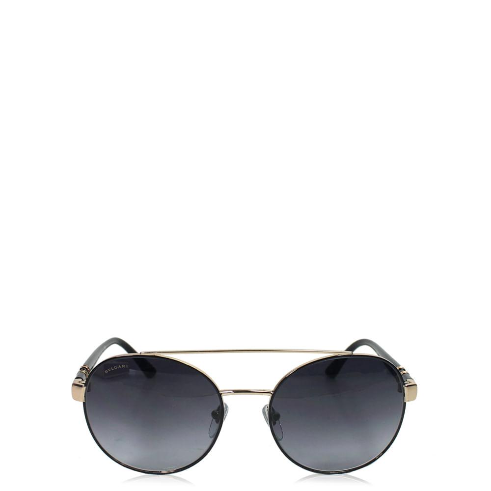 Óculos Bvulgari Round Acetato   Brechó de luxo - prettynew 59f11f61c2